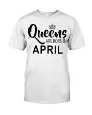 Queen are born in April Ladies T-Shirt Premium Fit Mens Tee thumbnail