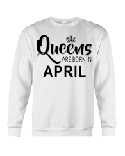 Queen are born in April Ladies T-Shirt Crewneck Sweatshirt thumbnail