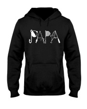 PAPA fishing shirt Hooded Sweatshirt front