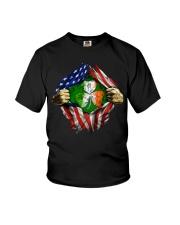 CPC - AMERICAN FLAG BREAKING IRISH SHAMROCK Youth T-Shirt thumbnail