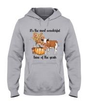 Cow farm wonderful Hooded Sweatshirt front