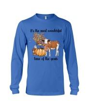 Cow farm wonderful Long Sleeve Tee thumbnail