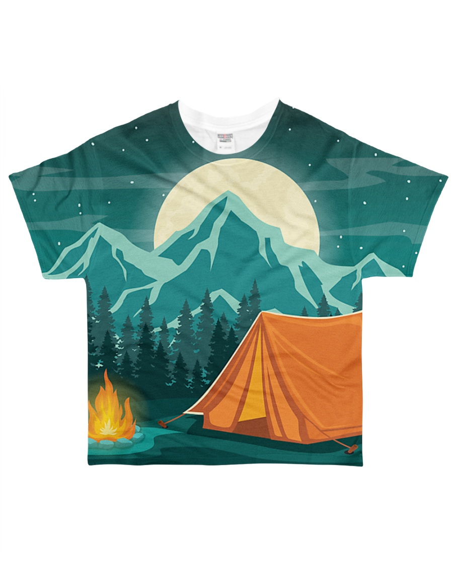 TQ - Camping  All-over T-Shirt