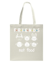 Friends Not Food Tote Bag thumbnail