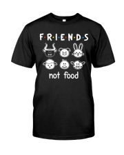 Friends Not Food Classic T-Shirt front