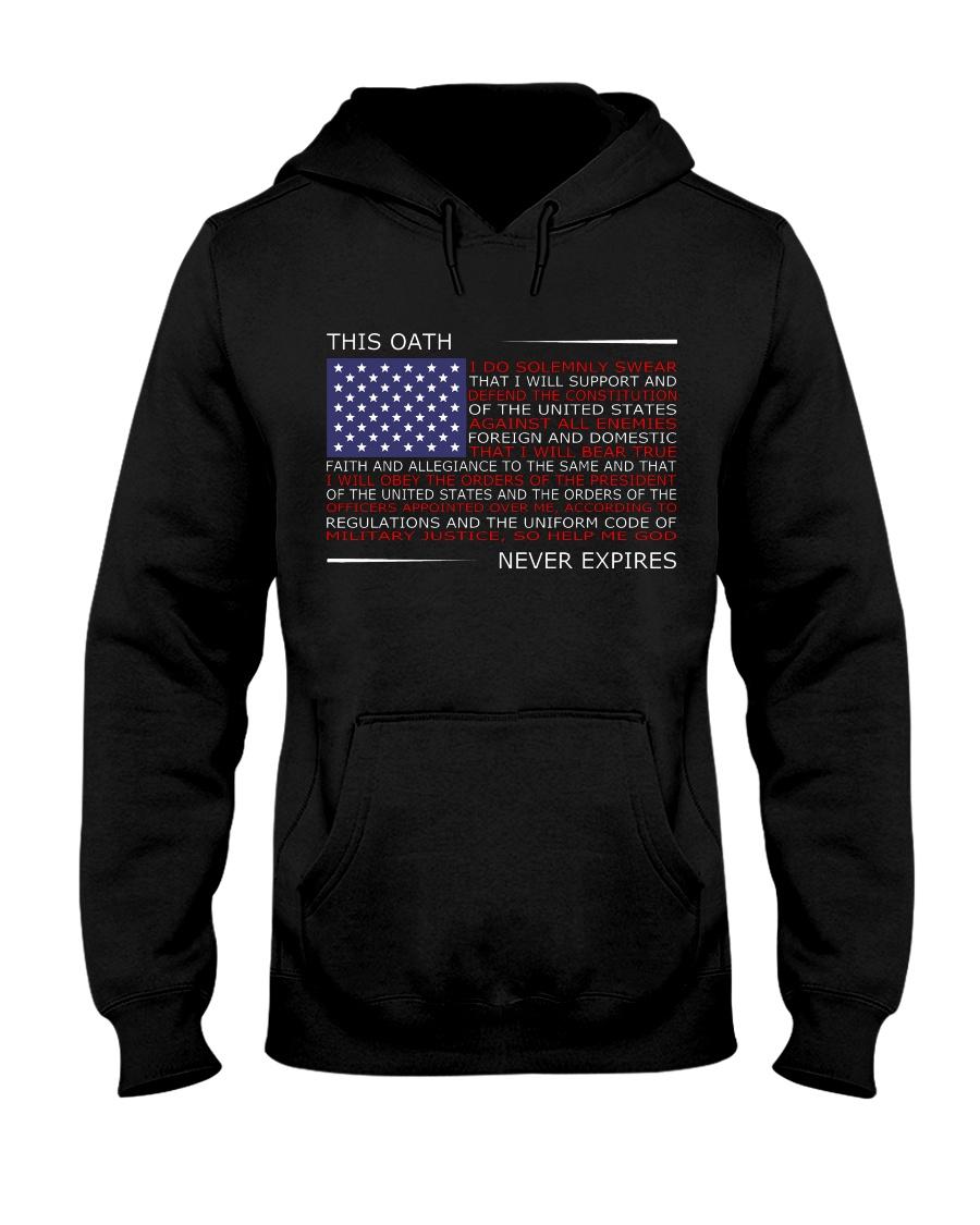 This OATH NEVER EXPIRES Hooded Sweatshirt
