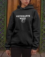 proud veteran wife Hooded Sweatshirt apparel-hooded-sweatshirt-lifestyle-front-03