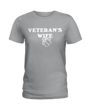 proud veteran wife Ladies T-Shirt thumbnail