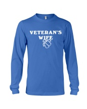 proud veteran wife Long Sleeve Tee thumbnail