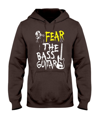 Player Tshirt  Fear The Bass Guitar  Bassist S
