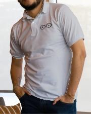 Live Life Strong Polo Shirt Onyx Logo Classic Polo garment-embroidery-classicpolo-lifestyle-01