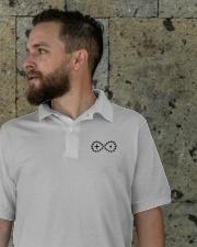 Live Life Strong Polo Shirt Onyx Logo Classic Polo garment-embroidery-classicpolo-lifestyle-08