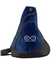 Live Life Strong Sling Pack Sling Pack front