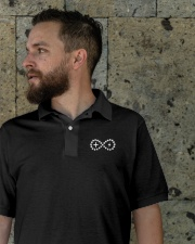 Live Life Strong Polo Ivory Logo Classic Polo garment-embroidery-classicpolo-lifestyle-08