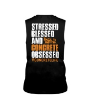 Stressed - Blessed - Concrete obsessed Sleeveless Tee thumbnail