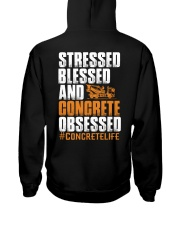 Stressed - Blessed - Concrete obsessed Hooded Sweatshirt thumbnail
