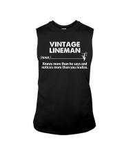 Vintage Lineman Sleeveless Tee thumbnail