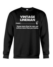 Vintage Lineman Crewneck Sweatshirt thumbnail