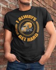 Concrete - I ALWAYS GET HARD CRT 1077 Classic T-Shirt apparel-classic-tshirt-lifestyle-26