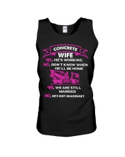 CONCRETE WIFE T SHIRT Unisex Tank thumbnail