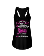 CONCRETE WIFE T SHIRT Ladies Flowy Tank thumbnail