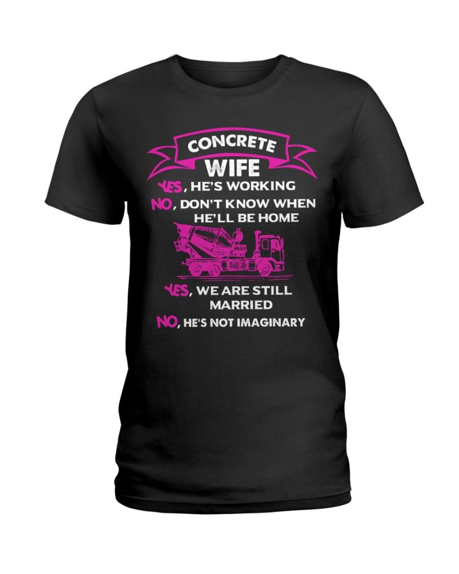 CONCRETE WIFE T SHIRT Ladies T-Shirt