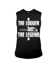 The Logger - The legend Sleeveless Tee thumbnail