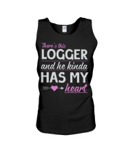 Logger's Wife - He kindle has my heart Unisex Tank thumbnail