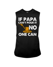 IF PAPA CANT POUR IT - NO ONE CAN CRT1003 Sleeveless Tee thumbnail