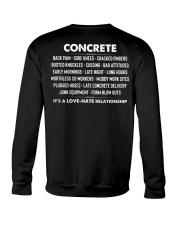 Concrete - it's a love-hate relationship Crewneck Sweatshirt thumbnail