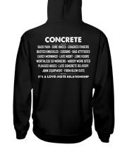 Concrete - it's a love-hate relationship Hooded Sweatshirt thumbnail