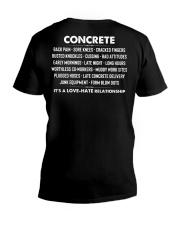 Concrete - it's a love-hate relationship V-Neck T-Shirt thumbnail