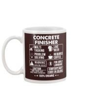 MUG - Concrete Finisher 100 Percent Organic Mug back