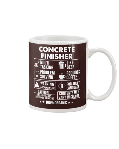 MUG - Concrete Finisher 100 Percent Organic