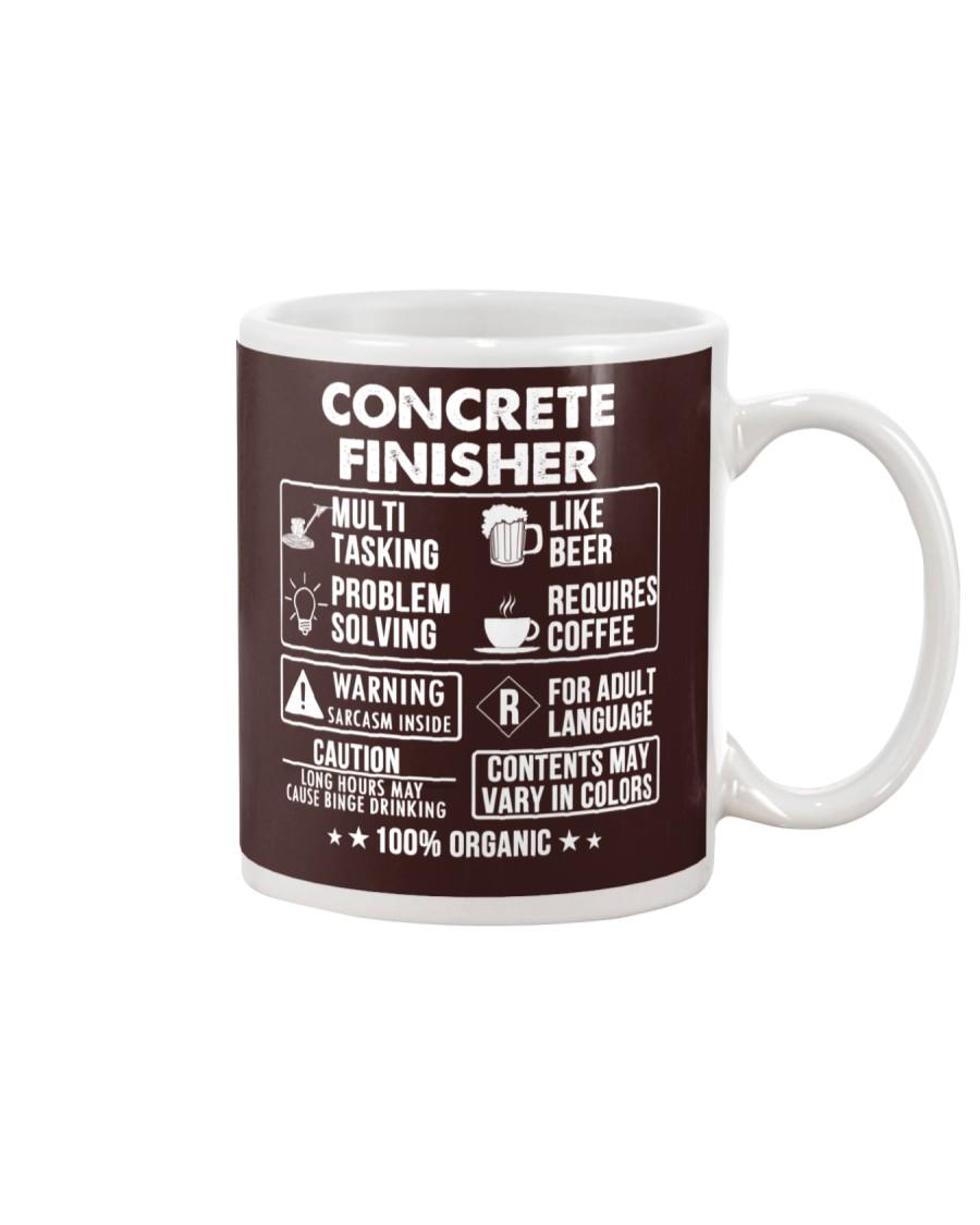 MUG - Concrete Finisher 100 Percent Organic Mug