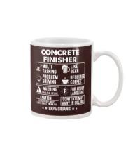 MUG - Concrete Finisher 100 Percent Organic Mug front