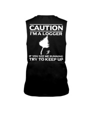LOGGER -If you see me running try to keep up Sleeveless Tee thumbnail