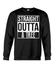 Straight Outta A Tree Crewneck Sweatshirt thumbnail