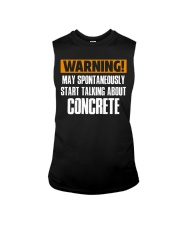 spontaneously start talking about concrete CRT1004 Sleeveless Tee thumbnail