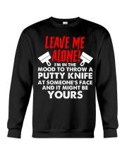 Drywaller - Leave Me Alone Crewneck Sweatshirt thumbnail