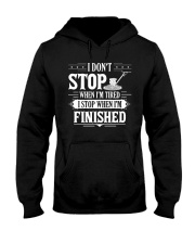 Concrete - I STOP WHEN I FINISH Hooded Sweatshirt tile