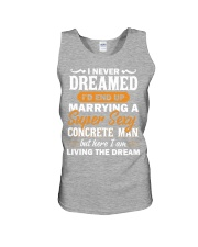 I'D END UP MARRYING A CONCRETE MAN CRT1051 Unisex Tank thumbnail