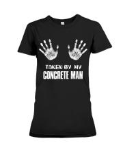 Taken By My Concrete Man Premium Fit Ladies Tee thumbnail