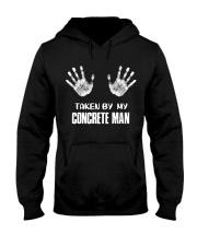Taken By My Concrete Man Hooded Sweatshirt thumbnail