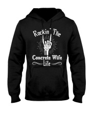 Rockin' The Concrete Wife Life CRT1052 Hooded Sweatshirt thumbnail