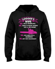 Logger's Wife - Yes We are still married Hooded Sweatshirt thumbnail