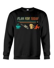 LOGGER VINTAGE PLAN FOR TODAY Crewneck Sweatshirt thumbnail