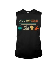 ROOFER VINTAGE PLAN FOR TODAY Sleeveless Tee thumbnail