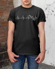 Chainsaw Heartbeat Classic T-Shirt apparel-classic-tshirt-lifestyle-31