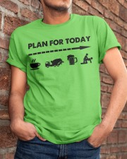 Concrete - Plan For To Day Classic T-Shirt apparel-classic-tshirt-lifestyle-26